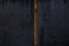 Alte Betonmauer mit Sonnenlicht von der Naht Lizenzfreie Stockbilder