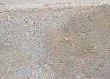 Alte Betonmauer mit Sprüngen Stockfotos