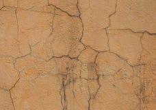 Alte Betonmauer mit Sprüngen Lizenzfreie Stockfotos