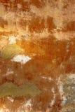 Alte Betonmauer mit Sprüngen Stockfotografie