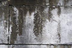 Alte Betonmauer mit Sprüngen Kann als Postkarte verwendet werden Stockbild