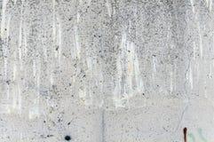Alte Betonmauer mit Spuren Stockfotografie