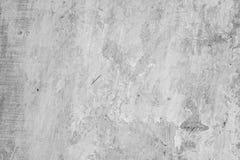Alte Betonmauer mit Verschleiß der grauen Farbe, Beschaffenheit Lizenzfreie Stockfotografie