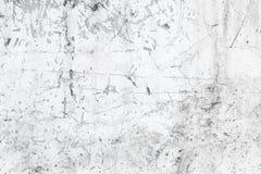Alte Betonmauer mit weißer Farbe Stockfotografie