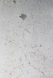 Alte Betonmauer mit weißer schäbiger Farbe Lizenzfreies Stockbild