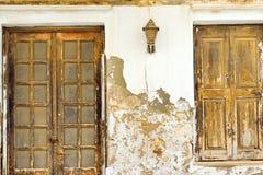 Alte Betonmauer Rethymno, Kreta, Griechenland Lizenzfreies Stockbild