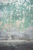 Alte Betonmauer und Boden Lizenzfreies Stockbild