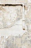 Alte Betonmauer und Rohr-Hintergrund Lizenzfreie Stockbilder