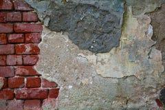 Alte Betonmauern und Maurerarbeit des Hintergrundes Lizenzfreie Stockfotografie