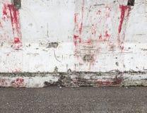 Alte Betonschranke Lizenzfreie Stockbilder