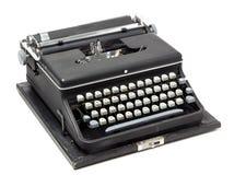 Alte bewegliche Schreibmaschine Lizenzfreies Stockbild