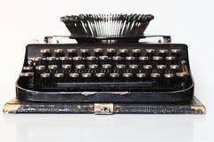 Alte bewegliche Schreibmaschine Stockfotografie
