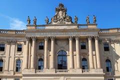 Alte Bibliothek,洪堡大学 免版税库存图片