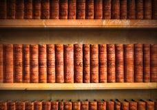 Alte Bibliothek Stockbild