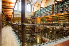 Alte Bibliothek Lizenzfreies Stockbild