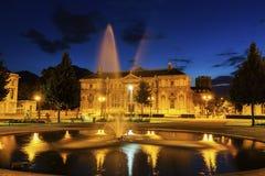Alte Bibliothek auf Platzde Verdun in Grenoble Stockfotografie