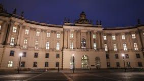 Alte Bibliothek in Bebelplatz Square, Berlin, Germany stock photo