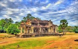 Alte Bibliothek bei Angkor Wat, Kambodscha Lizenzfreies Stockbild