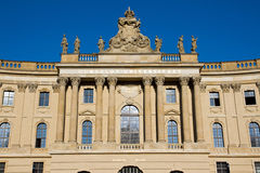 Alte Bibliothek in Berlijn Stock Afbeeldingen