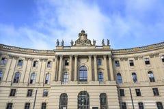 Alte Bibliothek in Berlijn Royalty-vrije Stock Foto