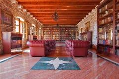 Alte Bibliothek Budva Lizenzfreies Stockbild