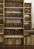 Alte Bibliothek des Klosters Stockbilder