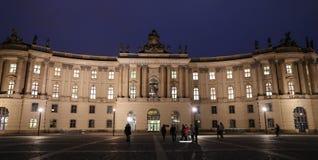 Alte Bibliothek en el cuadrado de Bebelplatz, Berlín, Alemania Imagenes de archivo