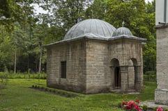 Alte Bibliothek im Yard der Moschee bei Osman Pazvantoglu, Vidin-Stadt Lizenzfreie Stockfotografie