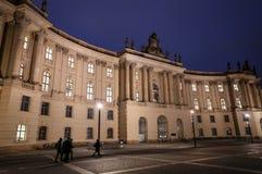 Alte Bibliothek nel quadrato di Bebelplatz, Berlino, Germania Fotografia Stock