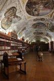 Alte Bibliothek in Prag Stockfoto