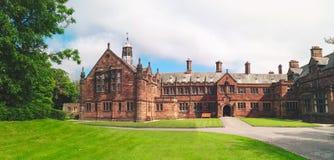 Alte Bibliothek in Wales Lizenzfreie Stockbilder
