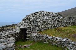 Alte Bienenstock-Hütten in Irland Lizenzfreies Stockfoto