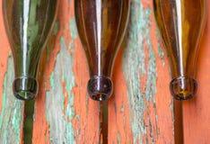 Alte Bierflaschen Stockbilder