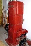 Alte Bierherstellungsmaschinerie Stockbilder