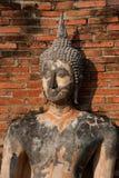 Alte Bild Buddha-Statue in der Sukhothai Stadt. Lizenzfreie Stockbilder