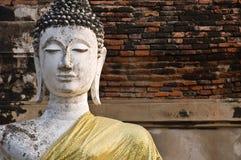 Alte Bildbuddha-Statue Stockbild