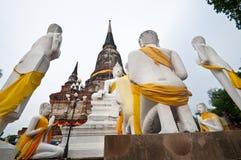 Alte Bildbuddha-Statue Lizenzfreie Stockfotografie