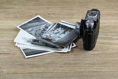 Alte Bilder mit der Kamera Stockfoto