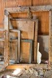 Alte Bilderrahmen aus Holz Lizenzfreie Stockfotografie