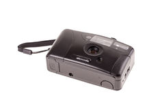 Alte billige Fotoplastikkamera Stockfoto