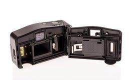 Alte billige Fotoplastikkamera Stockfotos