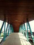 Alte Binder-Brücke Lizenzfreie Stockfotografie