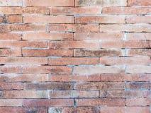 Alte birck Wand mit dem schmutzigen Fleck Lizenzfreie Stockfotos