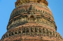 Alte birmanische Pagode Stockfoto