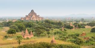 Alte birmanische Pagoden in Bagan, Myanmar Lizenzfreie Stockfotos