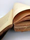 Alte Blätter des antiken Buches Lizenzfreie Stockfotografie