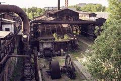 Alte Blattstangenmühle Stockfotografie