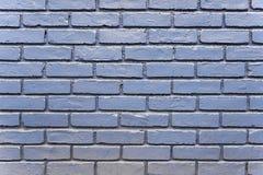 Alte blaue Backsteinmauerhintergrundbeschaffenheit Lizenzfreie Stockfotografie