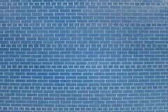 Alte blaue Backsteinmauerhintergrundbeschaffenheit Lizenzfreie Stockbilder