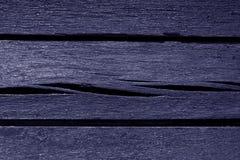 Alte blaue Farbe verwitterte hölzerne Planken Lizenzfreie Stockfotografie